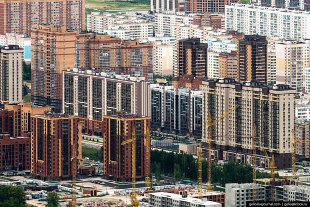 Фотографии Новосибирска с высоты — лето 2019