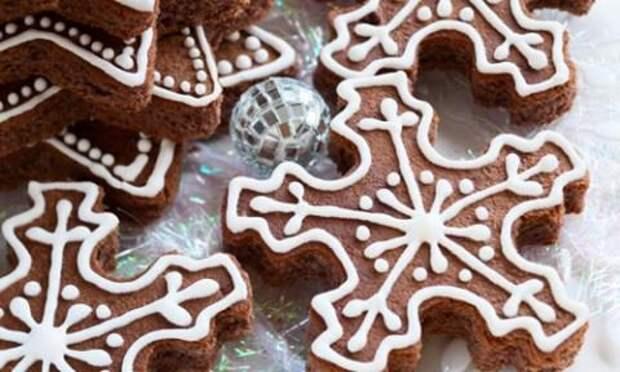 Новогоднее постное печенье
