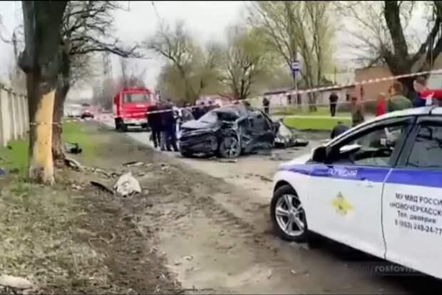 Разбившиеся насмерть при аварии в Новочеркасске подростки были пьяны