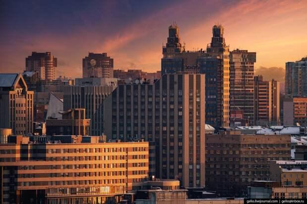 Как менялся облик Новосибирска с приходом лютой зимы