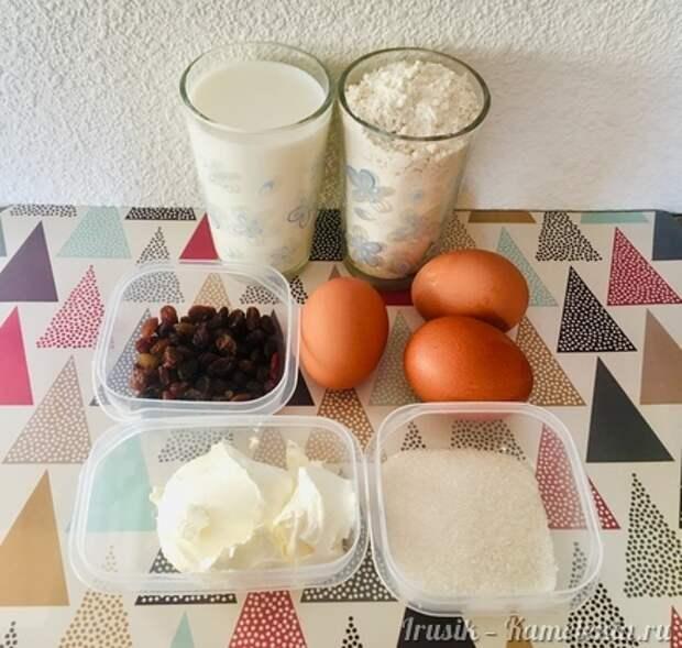 Приготовление рецепта «Кайзершмаррн», или Императорский омлет шаг 1