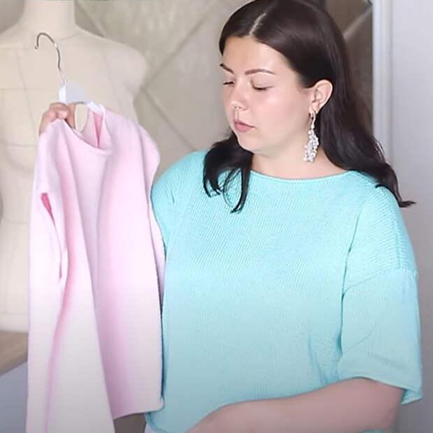 Как связать футболку спицами