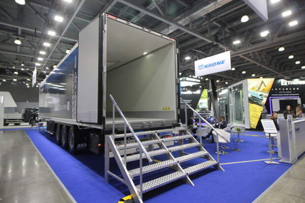 Krone представила на Comtrans 2021 премиальный полуприцеп-рефрижератор для требовательного российского рынка