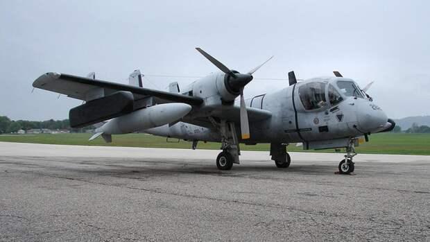 Разведывательный самолёт OV-1 Mohawk