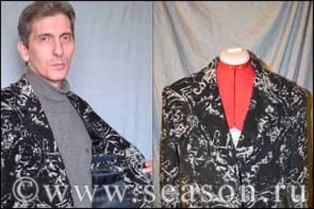 как вшить воротник мужского пиджака