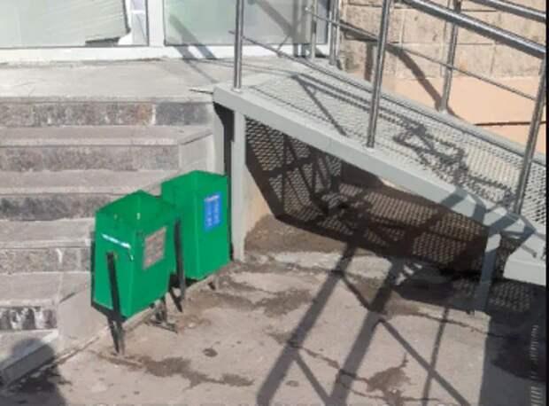 От мусора убрали дворовую территорию дома на Перерве