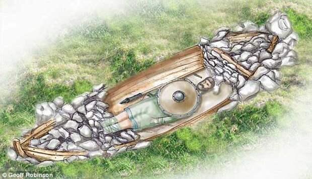 корабль викинга это его могила