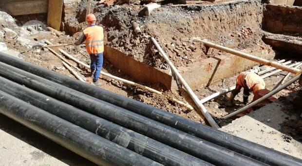 Масштабное обновление теплосетей в микрорайоне «Буммаш» в Ижевске завершится в этом году