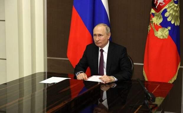Путин обсудил Стратегию национальной безопасности с Совбезом РФ
