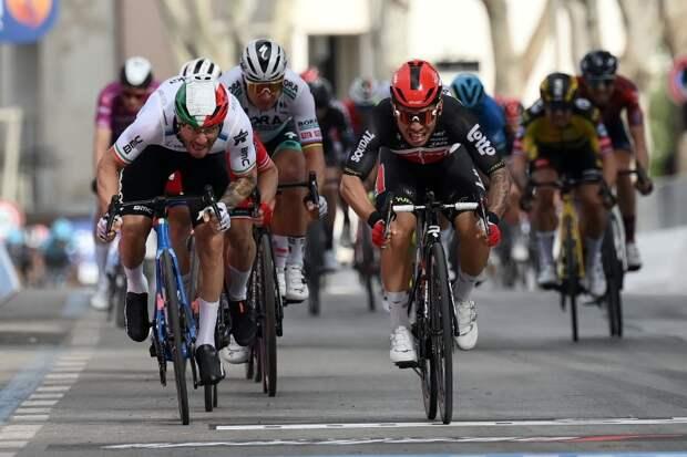 Калеб Юэн – победитель 5 этапа Джиро д'Италия-2021