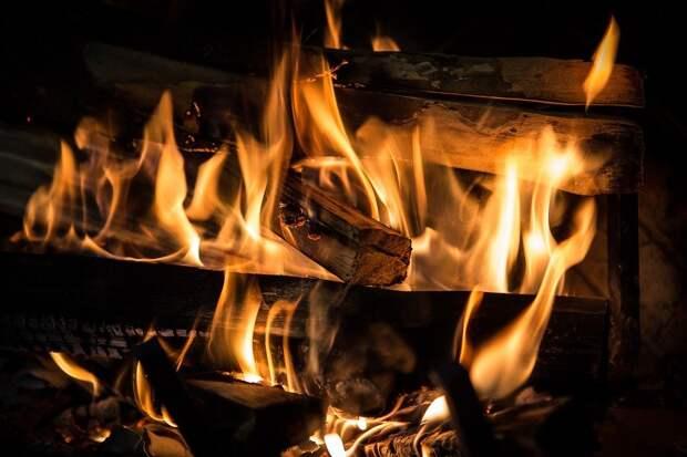 Пожар, Камин, Пламя, Горячие, Жара, Угли, Оранжевый