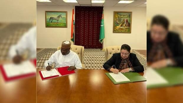 Туркменистан и Нигер договорились обменяться послами
