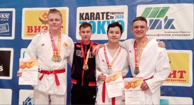 Нижегородские каратисты завоевали три золотые медали навсероссийских соревнованиях «Кубок памяти»