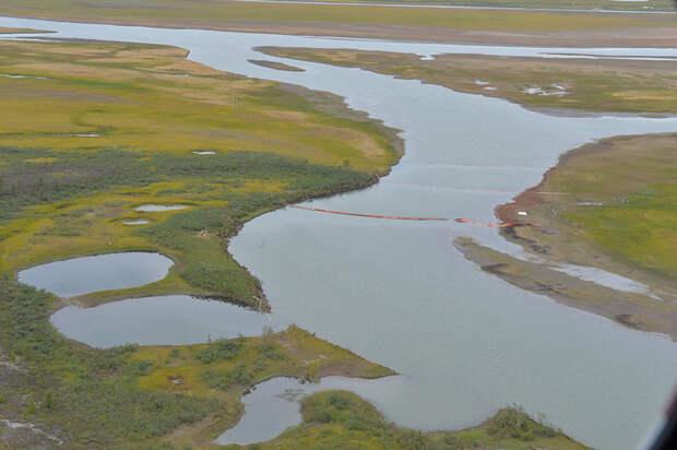 Крупная утечка топлива произошла на объекте «Норникеля» в Сибири