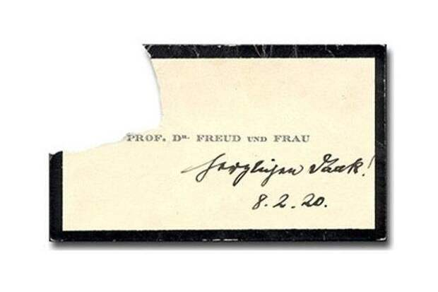 Вот как выглядели визитки знаменитых исторических личностей