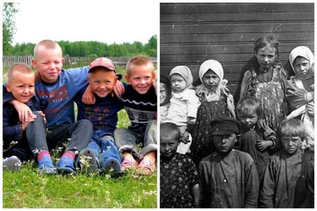 Что умели делать и кем хотели стать деревенские дети в начале XX века будущее, дети 20 и 21 века, мечты и реализация, образование, профориентация
