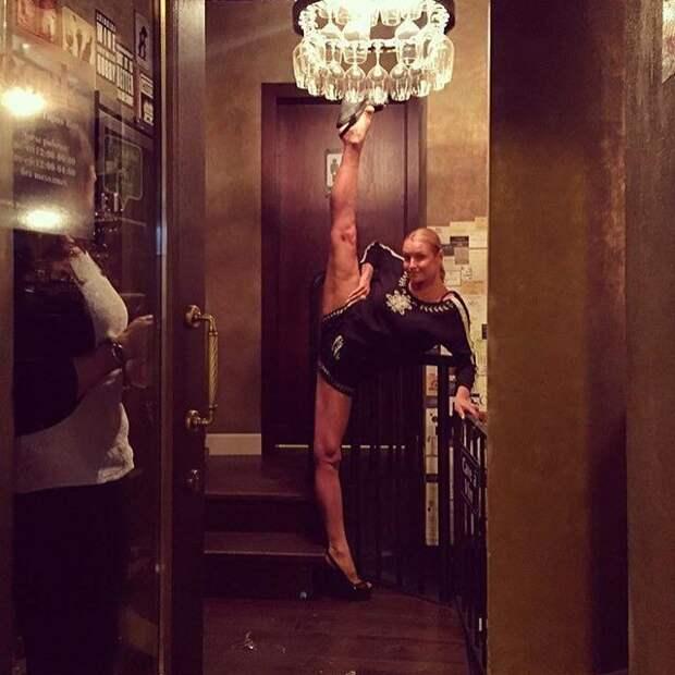 Разве можно после такого осуждать последователей балерины? волочкова, инстагарам, смешные подражатели, шпагаты, юмор