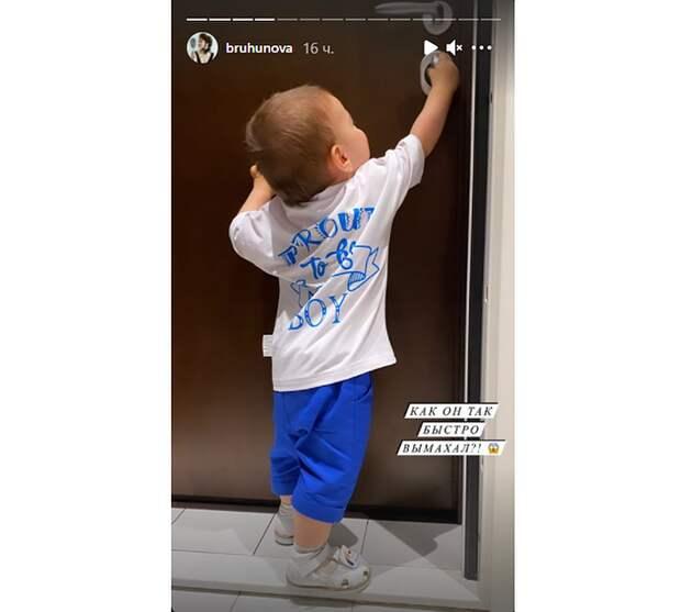 «Как он так вымахал?»: Брухунова показала подросшего сына от Петросяна