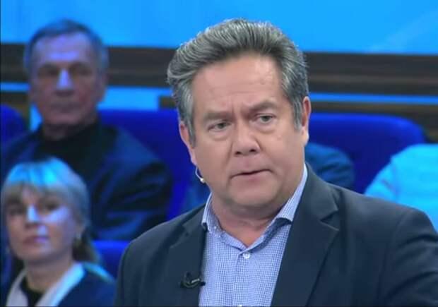 После конфликта с Норкиным на НТВ, Платошкин вернулся в программу «60 минут», где обсуждал Украину