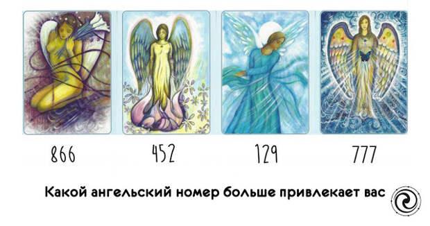 Какой ангельский номер больше привлекает вас?