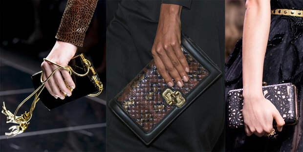 Маленькие женские сумочки клатчи