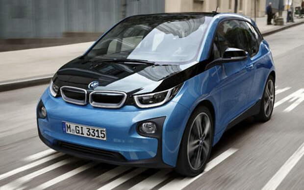 Электромобиль BMW i3 приехал в Россию под видом гибрида
