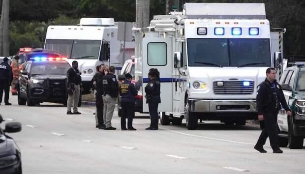 В перестрелке во Флориде погибли 2 агентов ФБР, еще 3 ранены