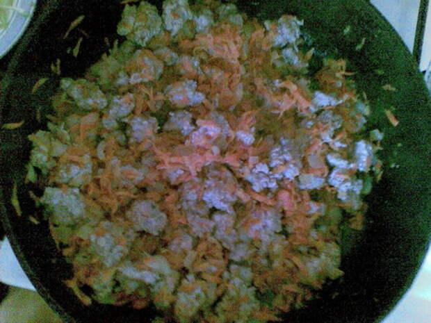 Овощное рагу на даче