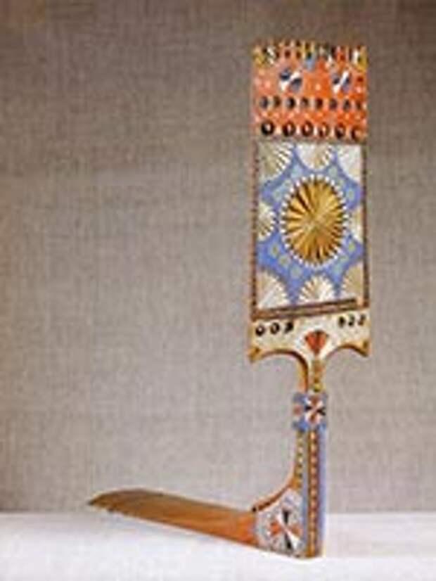 Прялка. Вологодская губ, 1920 г. из собрания Русского музея