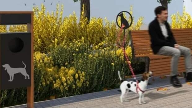 Пешеходную зону спарковкой для собак могут построить наСержантова вРостове