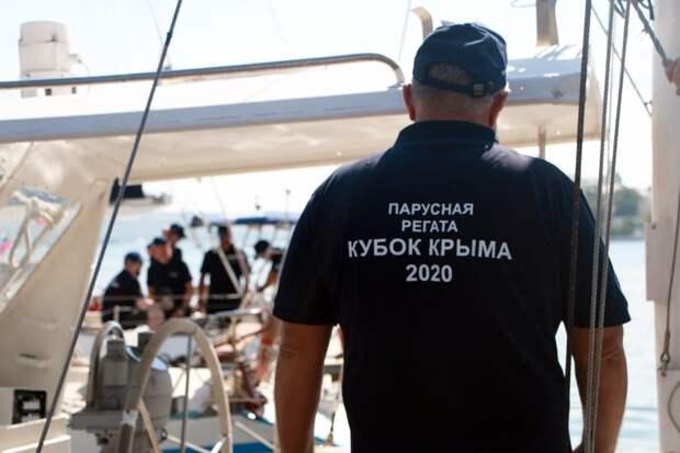 В Севастополе стартовала парусная регата