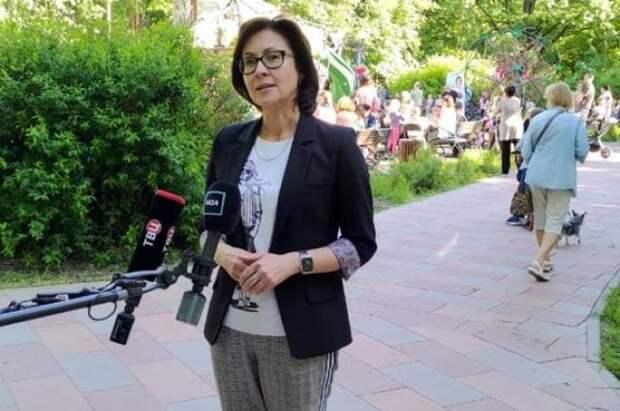 Доктор Елена Кац призвала повысить качество досуговых площадок в ВАО