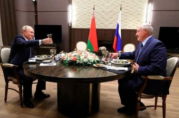 Александр Роджерс о встрече Путина и Лукашенко
