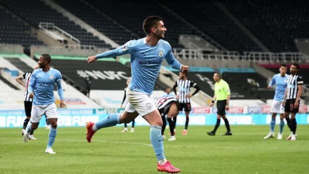 «Манчестер Сити» встатусе чемпиона Англии одержал победу над «Ньюкаслом»