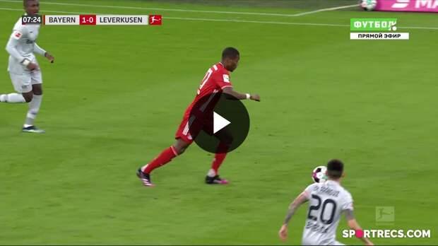 20.04.2021 Бавария - Байер - 2:0. Обзор матча