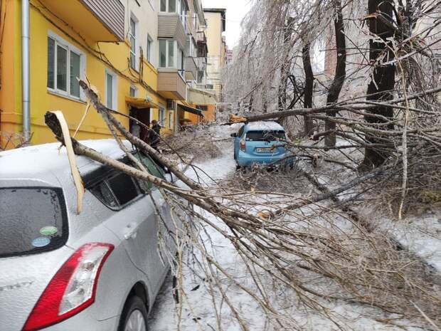 Во Владивостоке из-за осадков нарушены линии коммуникаций и транспортное сообщение