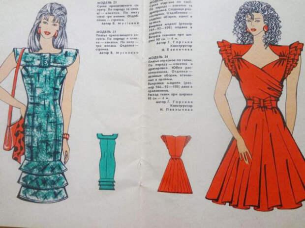 Журнал мод, 1985