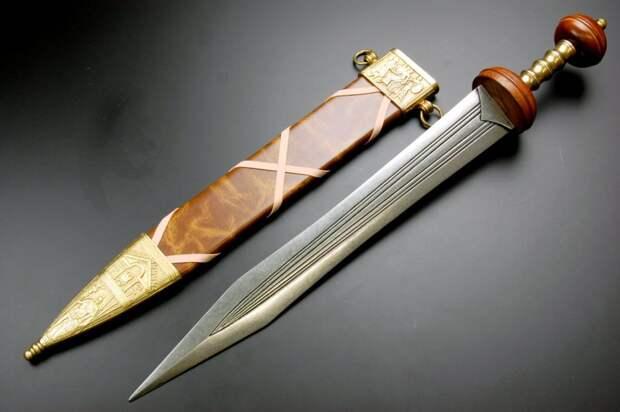 Спата – продвинутый «композитный меч» римских легионеров