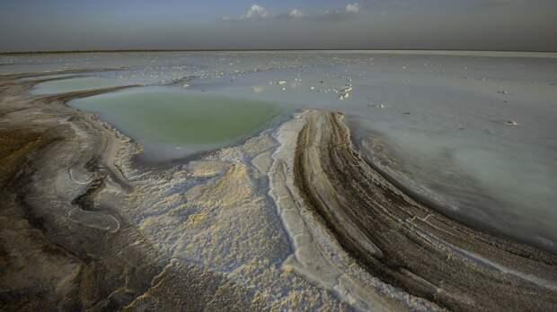 Солончаковая пустыня Большой Качский Ранн
