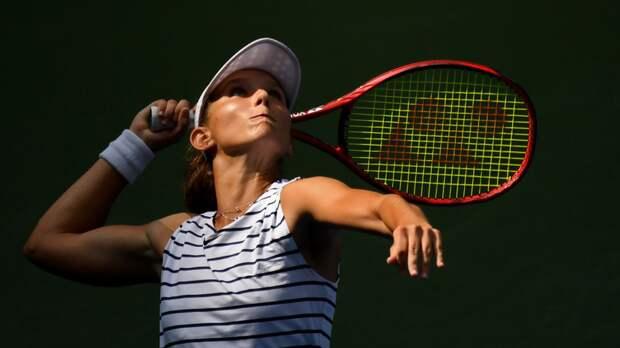 Грачёва уступила Мартич в матче первого круга турнира в Парме