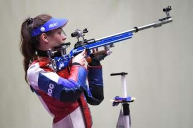 Зыкова выиграла серебро в стрельбе из винтовки из трех положений на Играх