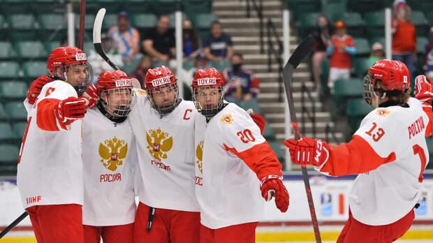Форвард сборной России Мирошниченко признан лучшим игроком дня ЮЧМ-2021