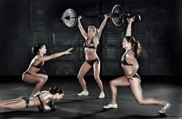 СПОРТКОНТРОЛЬ. Кроссфит упражнения: секреты и особенности