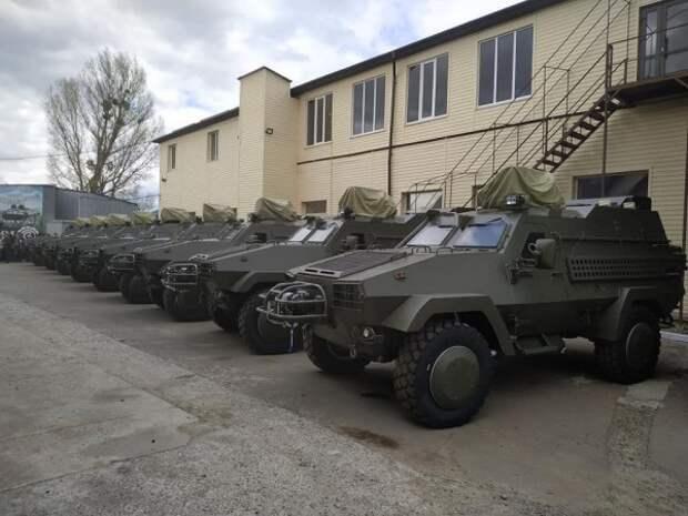 Вооруженные силы Украины получили бронированные машины Oncilla