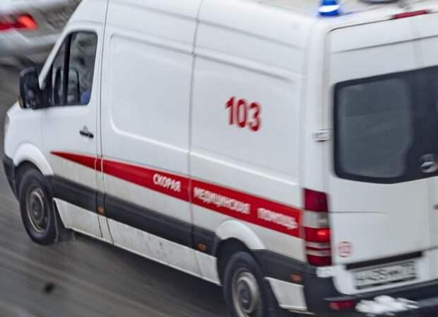В Подмосковье ребенок пострадал при пожаре в автомобиле