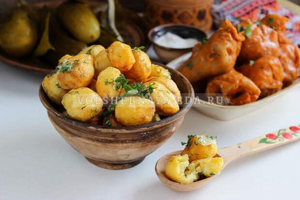 Картошка с чесноком по-улановски: знаменитый рецепт советской кухни