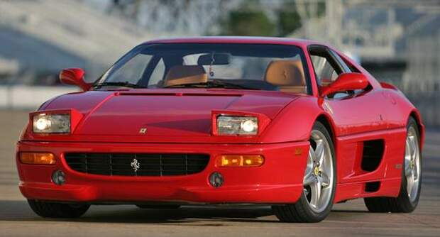 Ferrari F355 Berlinetta — один из самых красивых автомобилей в мире