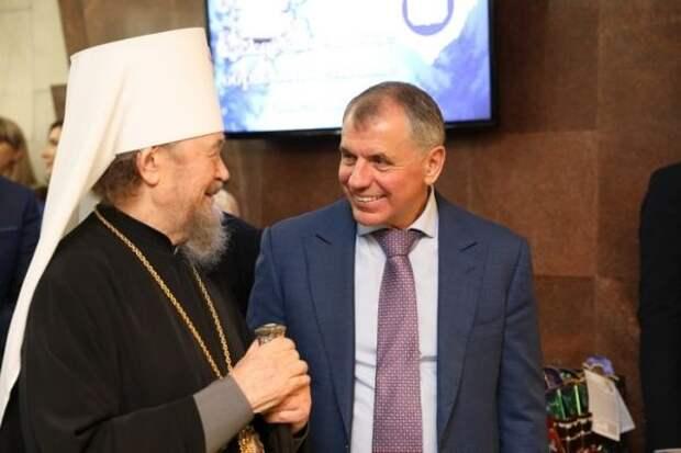 Поздравление Митрополиту Симферопольскому и Крымскому Владыке Лазарю