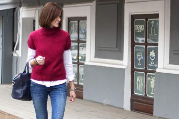 7 идей, стильно носить рубашку зимой и не мёрзнуть