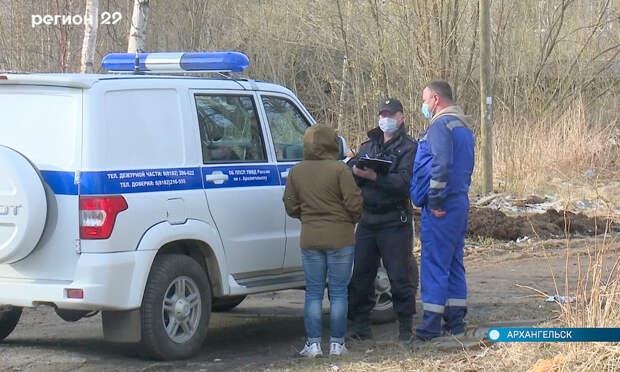 В переулке Водников в Архангельске орудуют мародёры